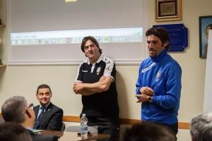 Intervento di Danilo Giannoccaro durante la riunione